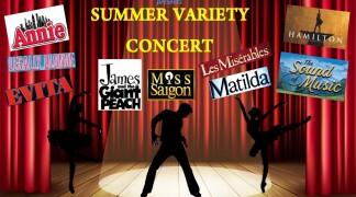 Summer Variety Concert – Sunday 23rd June – Hopelands Hall